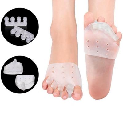 JHS杰恆社abe001矽膠拇指外翻美形套裝腳趾分離器矽膠美形器套裝