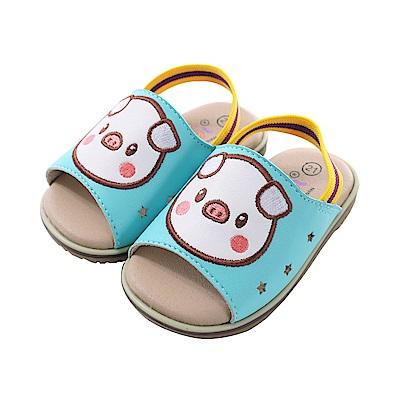 豬寶寶手工止滑涼鞋 sk0705 魔法Baby