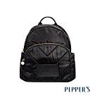 PEPPER'S Harper 尼龍後背包 - 煙燻黑
