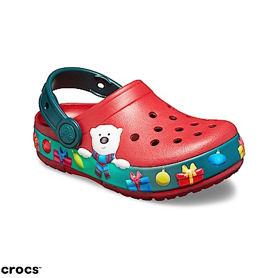 Crocs卡駱馳 (童鞋) 節日系列小卡駱班 205423-6FT