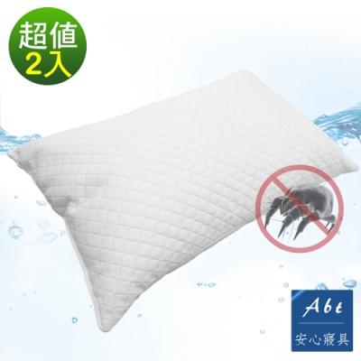 Abt 經典抗菌防螨水波枕/親水泡棉枕/舒眠枕-2入