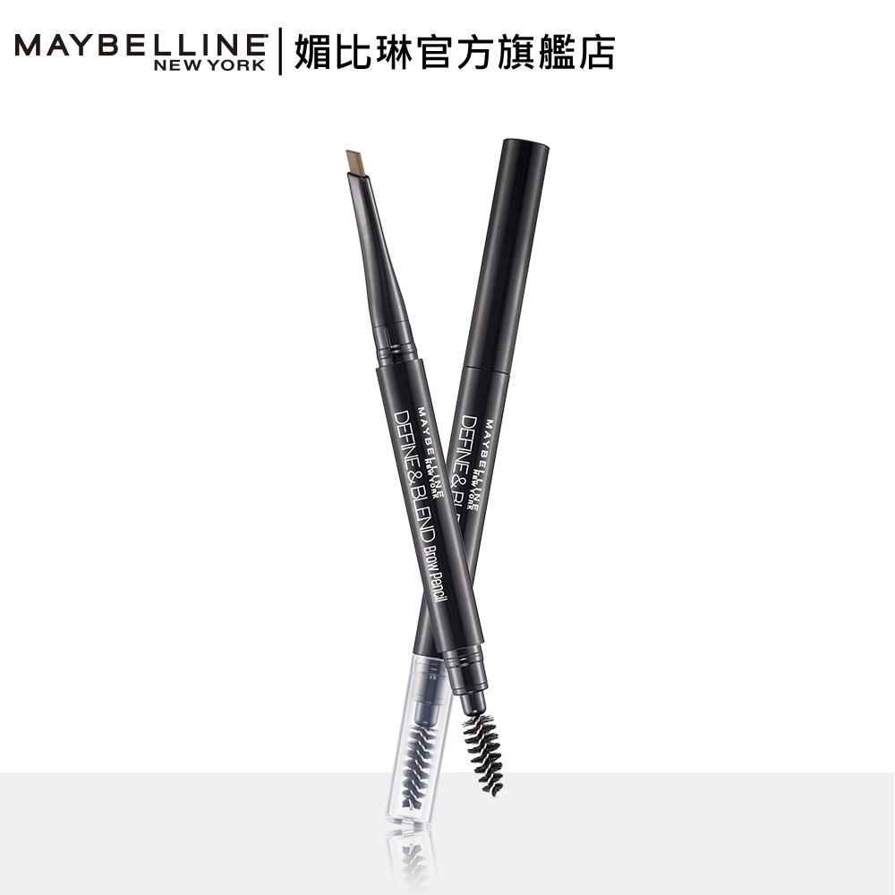 MAYBELLINE 媚比琳 武士道塑型眉筆-深棕色X3