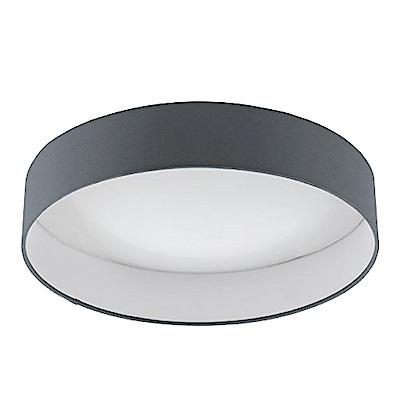 EGLO歐風燈飾 簡約風雙色圓形吸頂燈