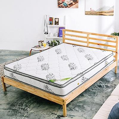 AVIS 艾維斯 艾薇舒柔乳膠四線強化支撐獨立筒床墊-雙人加大6尺
