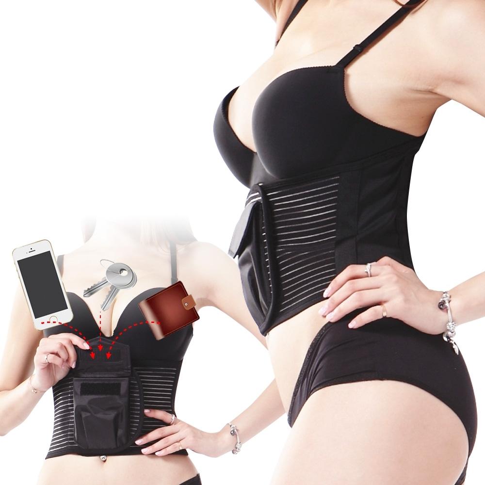【Yi-sheng】*全台首創口袋型*輕量化護腰帶(送CC膝腕)