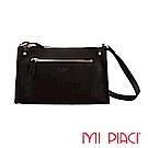 MI PIACI革物心語-LISA系列全牛皮斜背包-黑色 1283604