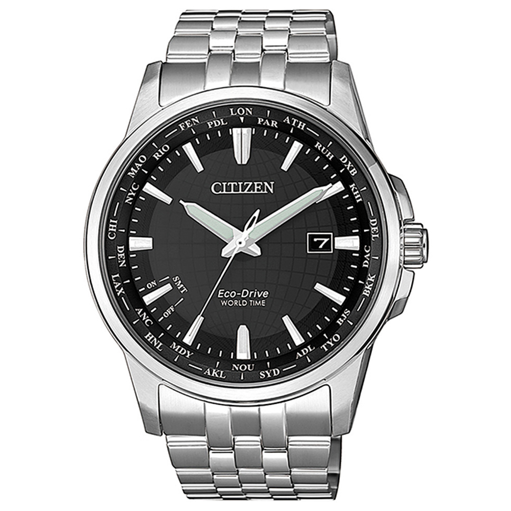 CITIZEN 星辰GENT限量藍寶石地球防磁腕錶41mm(BX1001-89E)