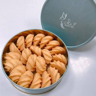沐爵 鐵盒綜合餅乾原味1盒(CAT)