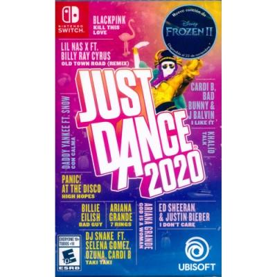 舞力全開 2020 Just Dance 2020 - NS Switch 中英文美版拉丁
