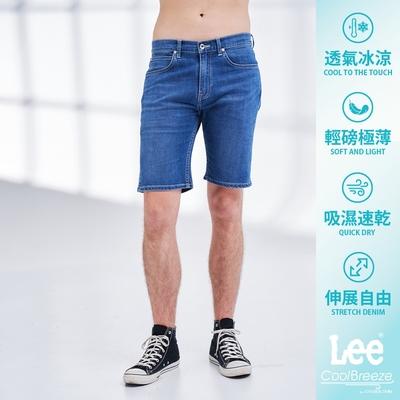 Lee  902 牛仔短褲 男款 中藍色 Cool Breeze