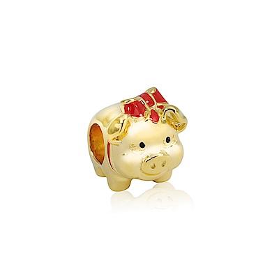 Pandora 潘朵拉 招財金豬墜飾 串珠