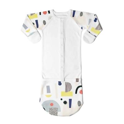 美國GOUMIKIDSxKate Pugsley有機棉嬰兒睡袍(大大的夢想)