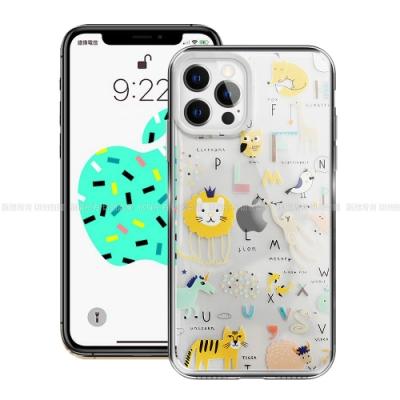MOOTUN for iPhone 12 / 12 Pro 6.1 防護晶透保護殼 -ABC動物