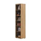 柏蒂家居-溫斯頓1.9尺開放式衣櫃/收納置物櫃-57x30x202cm