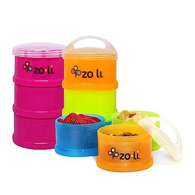 【限量組合】美國 Zoli 可疊式副食品分裝盒+食物分裝盒 (款式任選)
