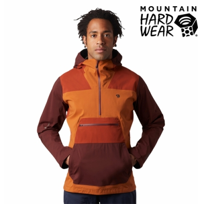 【美國 Mountain Hardwear】Exposure/2 Gore-Tex Paclite Stretch Anorak GTX輕量防水套頭上衣 男款 繡土 #1879351