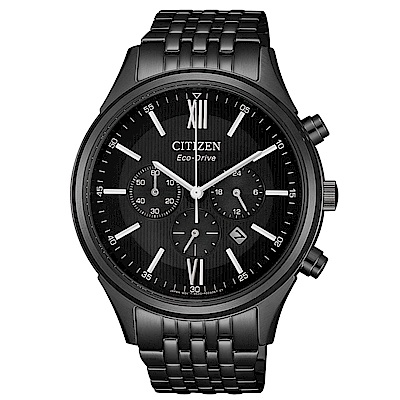 CITIZEN 超質感三眼計時光動能腕錶(CA4415-81E)
