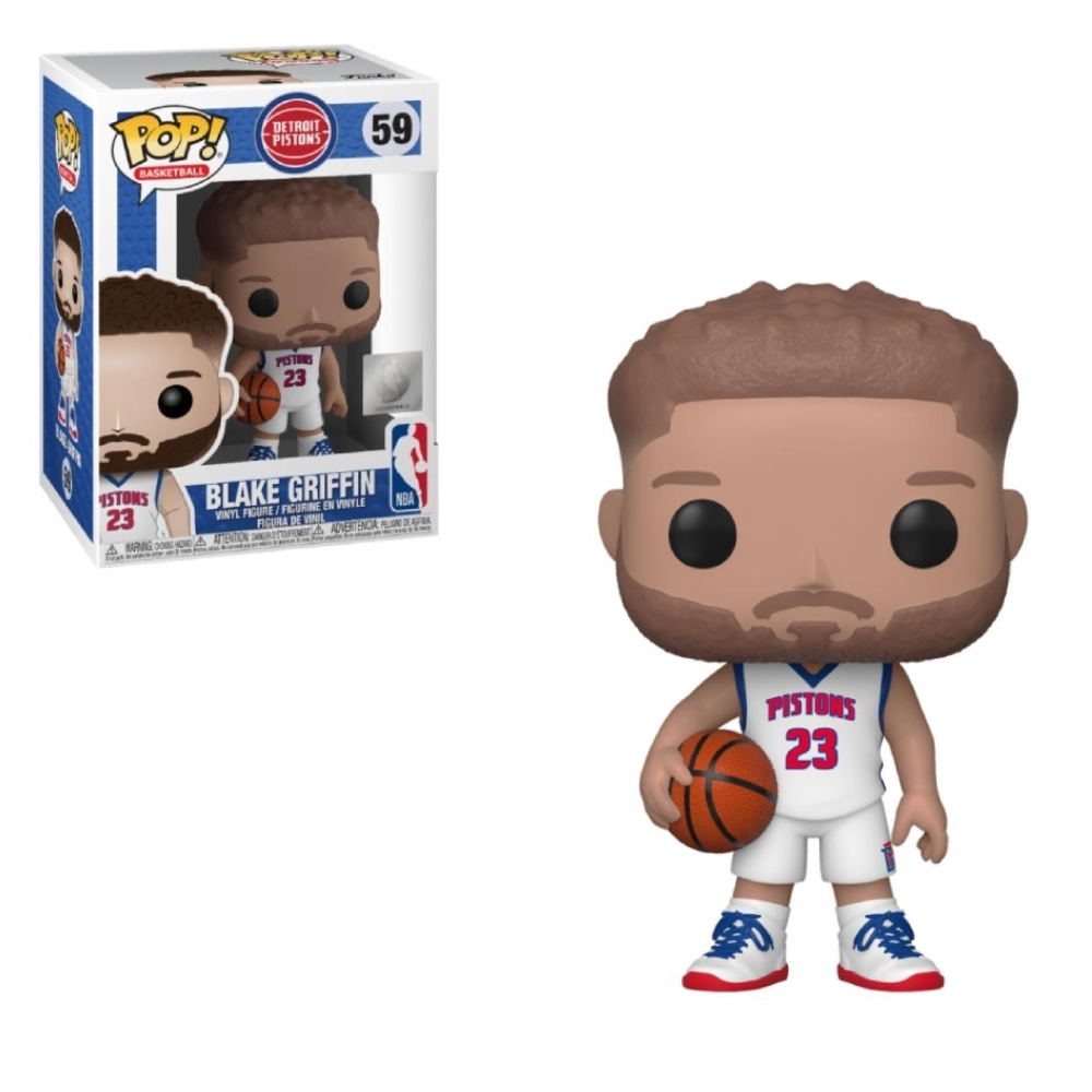 Funko POP NBA 大頭公仔 活塞隊 Blake Griffin