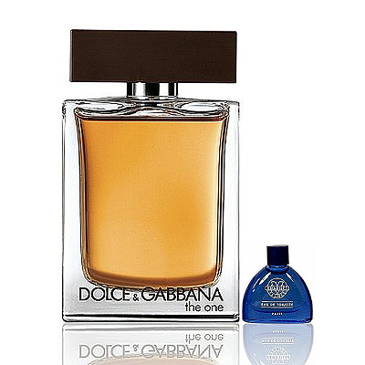 Dolce & Gabbana The One唯我男性淡香水100ml搭贈藍調小香3ml