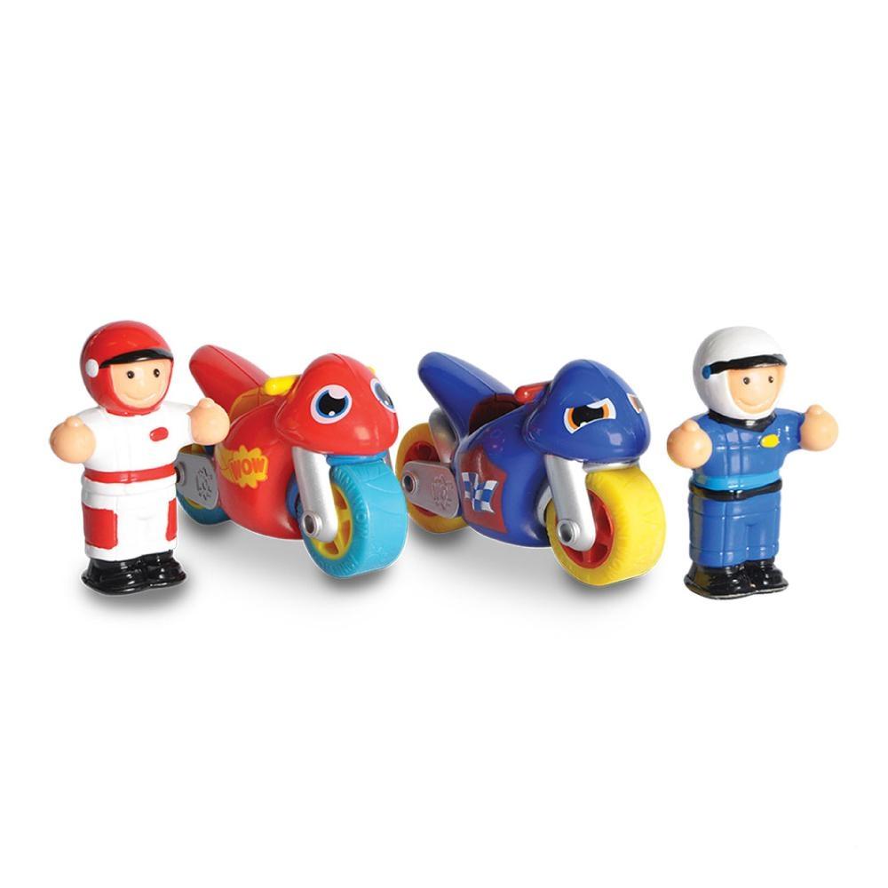 英國驚奇玩具 WOW Toys 小玩偶 - 飆風好朋友