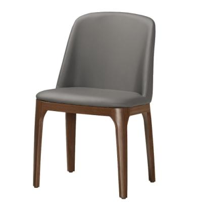 MUNA 維倫皮餐椅(五金腳)(4入) 47.5X56X78cm