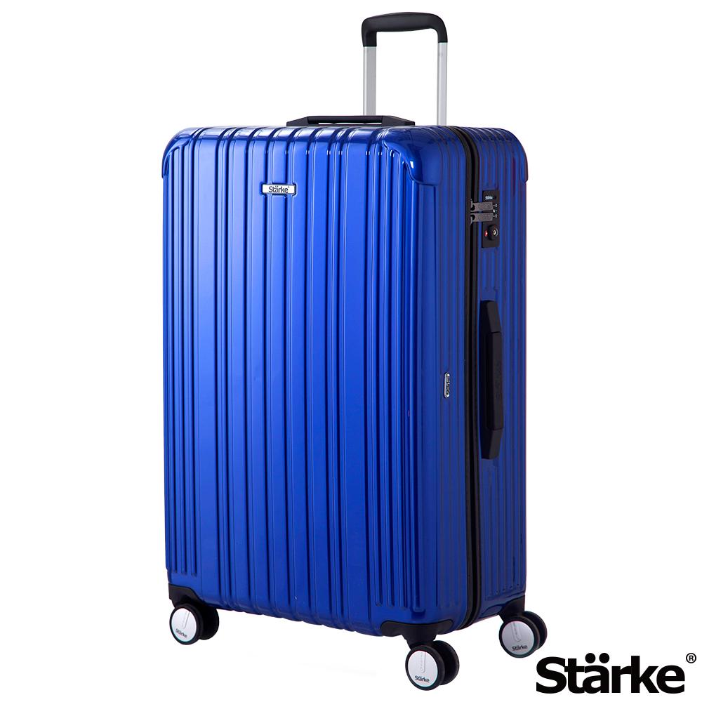 Starke 旅人系列 29吋TSA海關鎖拉鏈行李箱 - 藍色
