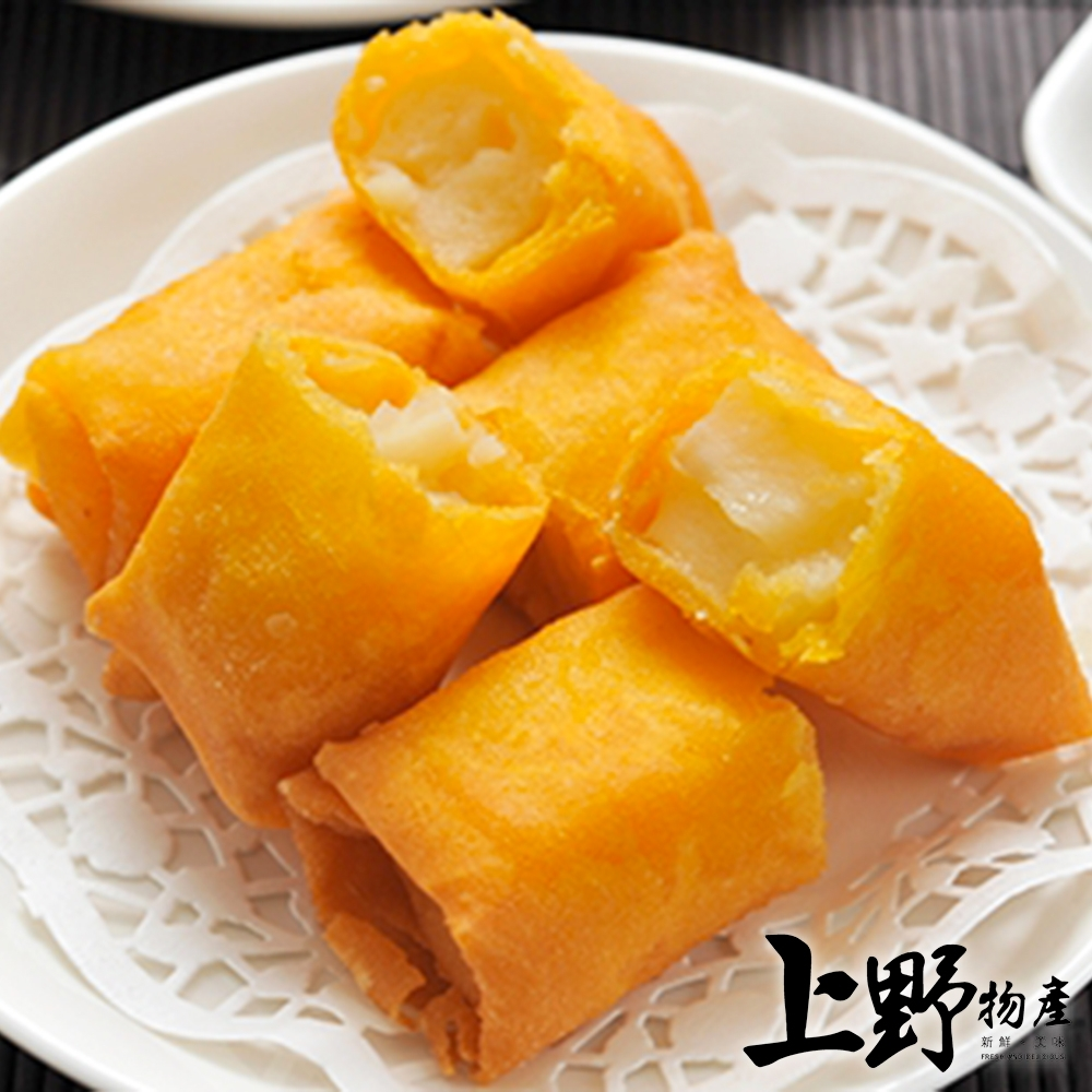 【上野物產】台灣製作酥脆馬蹄條(650g±10%/20條/包)x4包