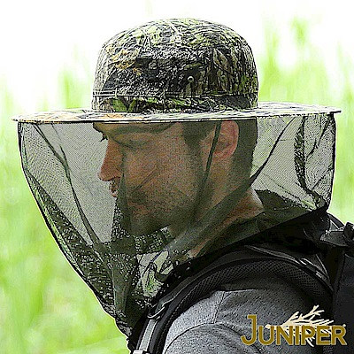 JUNIPER 抗UV折疊收納防蜂/防蚊蟲遮陽漁夫帽