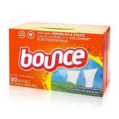 美國進口 Bounce 烘衣柔軟片(80片)
