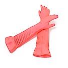 生活King 天然乳膠手套伸縮加長型3入