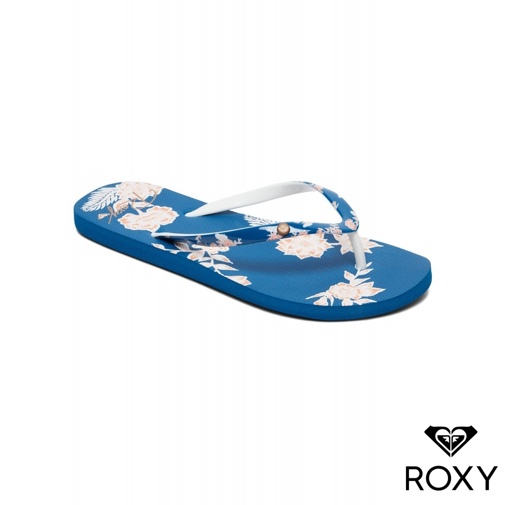 【ROXY】PORTOFINO II 夾腳拖 藍