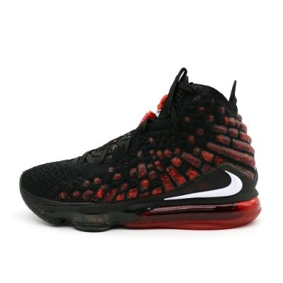 Nike LEBRON XVII EP 男 籃球鞋 黑紅(BQ3178006)