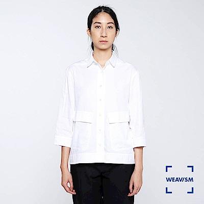 WEAVISM 織本主義- 短版膠原蛋白罩衫