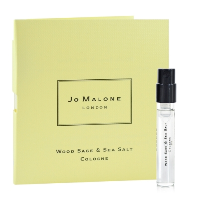 Jo Malone 鼠尾草與海鹽 針管小香 1.5ml (紙卡版) Wood Sage & Sea Salt