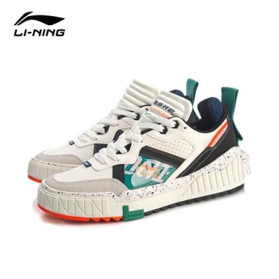 LI-NING 李寧 001 Unblock 經典系列時尚潮流休閒款 雪白/標準黑/青椒綠 男款(AGCQ199-1)