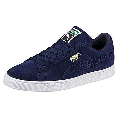 PUMA-SuedeClassic+復古籃球鞋-重深藍