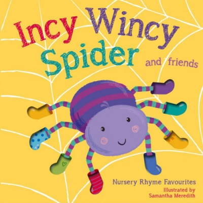 Incy Wincy Spider 小蜘蛛歷險記精裝硬頁書