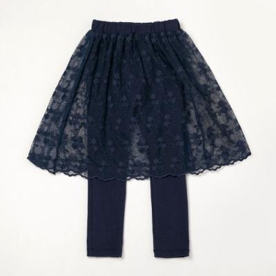 PIPPY 蕾絲裙內搭褲 丈青