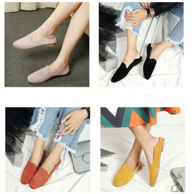 [時時樂限定]KEITH-WILL時尚鞋館 果色英倫半拖懶人鞋(2款可選)