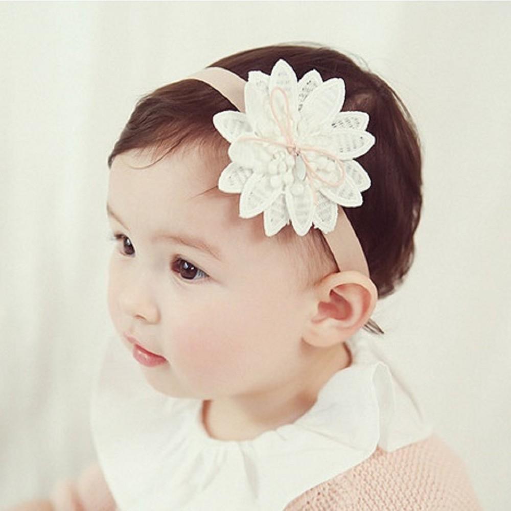 Baby童衣 新生兒髮帶 大花朵造型頭飾 寶寶頭帶 88768