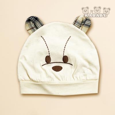 【金安德森】KA星星熊有機棉BABY帽 (米色)