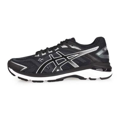 ASICS GT-2000 7 男慢跑鞋- 路跑 黑灰白