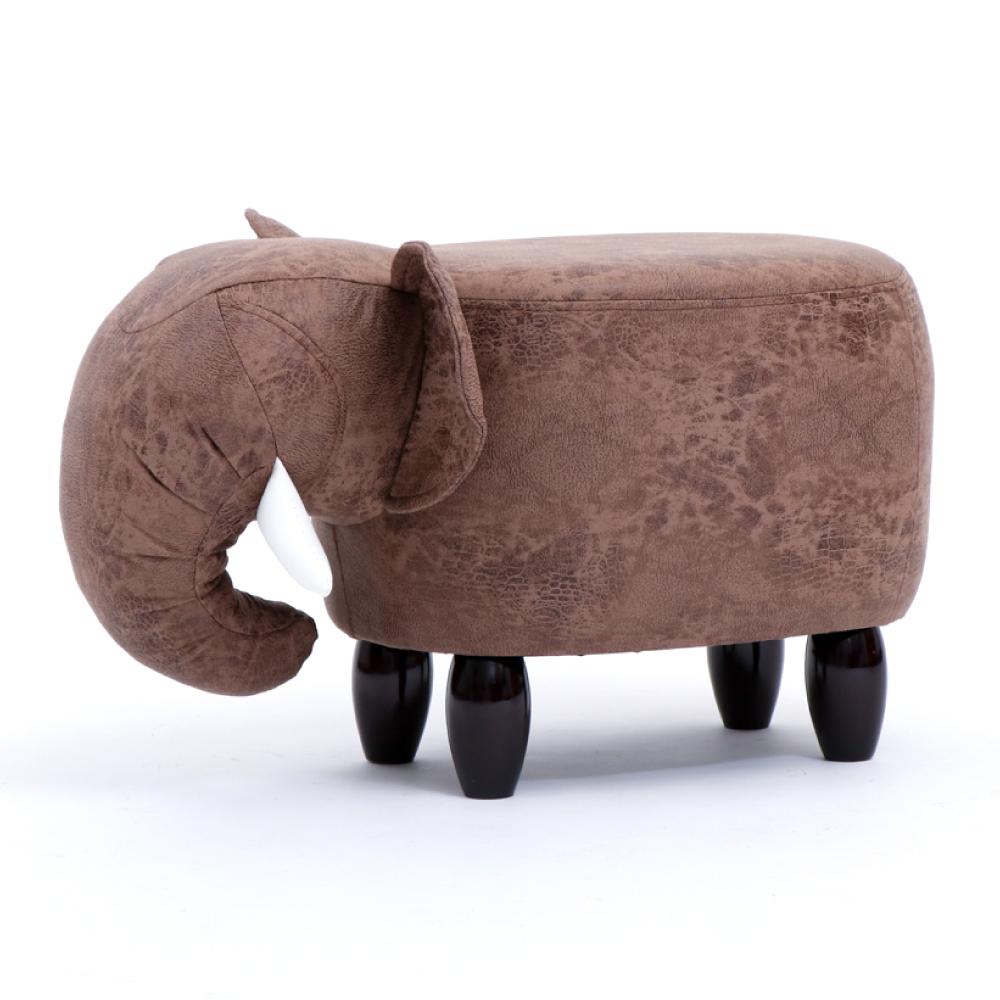(限時下殺)IDEA-超萌動物系列實木短腿椅凳 多款任選