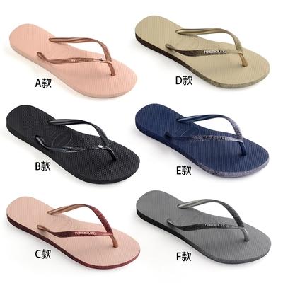 【時時樂限定】Havaianas哈瓦仕 巴西時尚亮片水晶涼拖鞋 均價$999