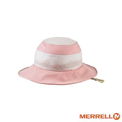 MERRELL 吸濕排汗快乾休閒帽-粉(5318HC158)