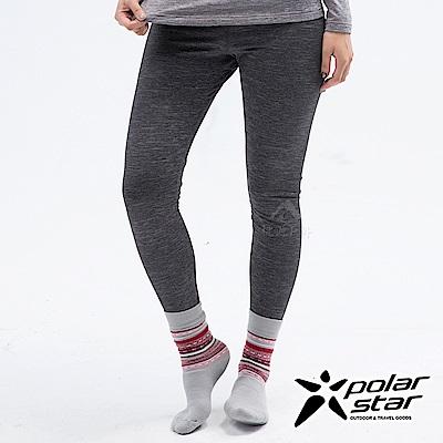 PolarStar 女 遠紅外線保暖褲『黑色』 P18432