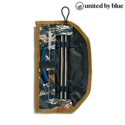 United by Blue 防潑水吸管收納包組 Printed Straw Kit 814-037 (印花款)|印花夜藍