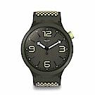 Swatch Big Bold 系列手錶 BBBLANCO 黃色 - 47mm
