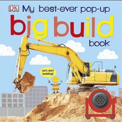 My Best-Ever Pop-Up Big Build Book 建築立體學習書