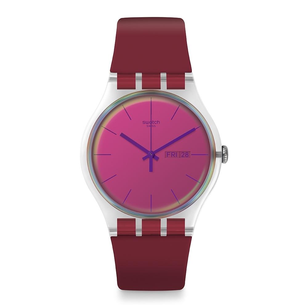 Swatch Transformation系列手錶 POLARED 一支獨秀-火紅